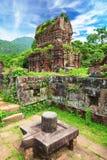 My Son Holy Land. Hindu temples My Son Hoi An Vietnam Stock Photo
