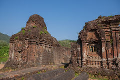 My Son Holy Land. Hindu temples My Son near Hoi An. Vietnam stock images
