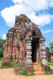 My son ruins, Vietnam. My Son ruins, Hindu temple by Champa Royalty Free Stock Photos