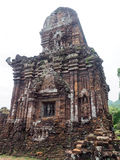 My Son Sanctuary, Vietnam. Remains of Hindu tower-temples at My Son Sanctuary, a UNESCO World Heritage site in Vietnam stock images
