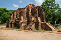 My Son sanctuary in Vietnam stock images