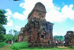 My Son temple complex, Vietnam. My Son Temple complex near Hoi An. Is a ruined Hindu temples constructed between the 4th and the 14th century AD by the kings of Stock Photo