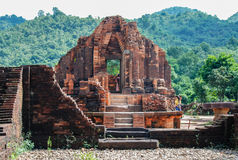 My Son temple complex, Vietnam Royalty Free Stock Photography