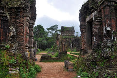 My Son Lost Temple, Vietnam Royalty Free Stock Photos