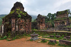 My Son Lost Sanctuary, Vietnam Royalty Free Stock Photos