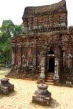 My Son, Vietnam. Ancient site of My Son, Vietnam Royalty Free Stock Photo
