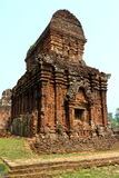 My Son, Vietnam. Ruins at My Son, Vietnam Stock Photo
