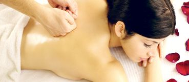 My spa time Stock Photography