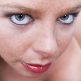 My Square. Close up of beautifull models face Stock Photos