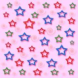 My stars gift paper royalty free stock images