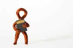 My Storage Copper Dude royalty free stock images