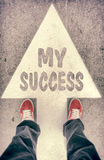 My success concept Royalty Free Stock Photo