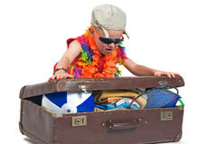 My Suitcase Royalty Free Stock Images