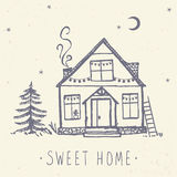My sweet home Royalty Free Stock Images