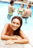 My swimming pool. Royalty Free Stock Photo