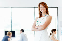 My team will get everything done Royalty Free Stock Photo