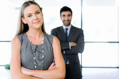 My team will get everything done Royalty Free Stock Photography