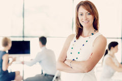 My team will get everything done Royalty Free Stock Image