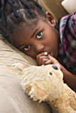 My teddy friend Royalty Free Stock Photos