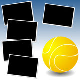 My tennis photo adventure Royalty Free Stock Photos