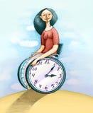 My time stock illustration