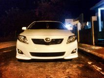 My toyota Corolla S. Car for life, economy. Best sell in the Royalty Free Stock Photography