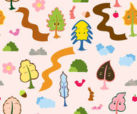 My Tree Friends Pattern Stock Image