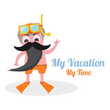 My vacation  time Royalty Free Stock Photography