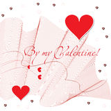 By my valentine Royalty Free Stock Image