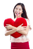 My Valentines' Heart Stock Photography