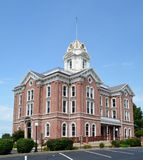 Mt. Vernon Courthouse Royalty Free Stock Images