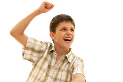 It is my victory! Stock Image
