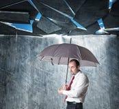 My weak shelter Stock Images