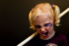 My wee cosplayer Stock Photos