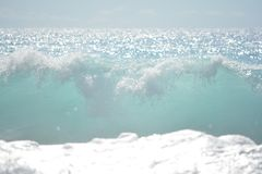 Enjoying the Beach royalty free stock photography