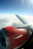 My window view from plane Royalty Free Stock Photos