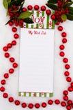 My Wish List Stock Photo