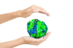 My world-my planet! Stock Photo