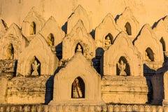 Mya Thein d?bnik pagodowy Minimalny Kuna Mingun Mandalay sagaing Myanmar fotografia royalty free