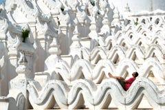 Mya Thein Tan Pagoda, Mingun, Myanmar Birmanie photo stock