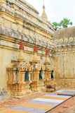 Mya Zedi Pagoda, Bagan Archaeological Zone, Myanmar Lizenzfreies Stockfoto