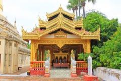 Mya Zedi Pagoda, Bagan Archaeological Zone, Myanmar Lizenzfreie Stockfotos