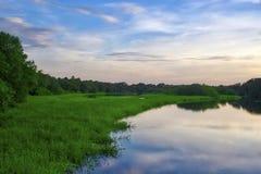Myakka rzeki zmierzch Zdjęcie Stock