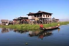 ландшафт myanmar стоковые фотографии rf
