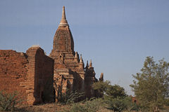 Myanmar, ancient Stupa Royalty Free Stock Image
