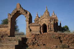 Myanmar, ancient Stupa, particularly Stock Photos