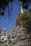 Myanmar. ancient temple Stock Photos