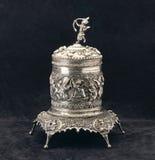 Myanmar antique pot Royalty Free Stock Photo