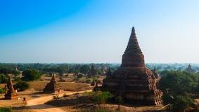 myanmar antyczna bagan pagoda Obrazy Royalty Free