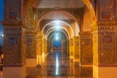 Myanmar Arch gate of Sutaungpyai Pagoda,Mandalay Hill. Stock Photo